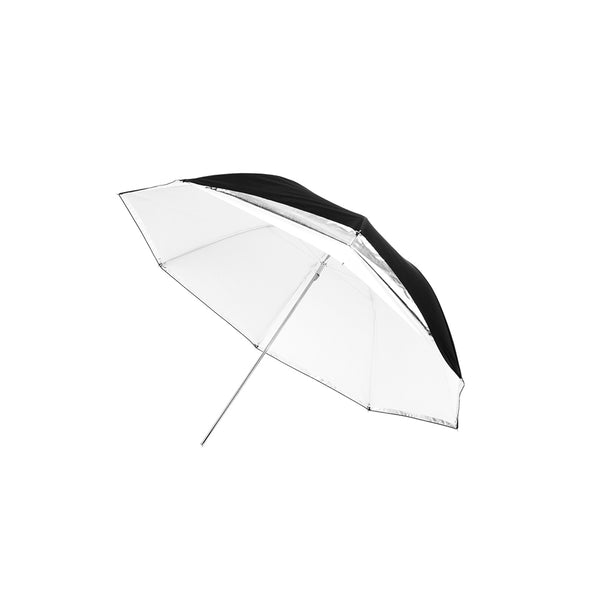 Standard-Series Traditional Translucent/Silver Convertible Umbrella - 43
