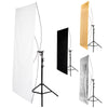 "Rectangle Reflector Panel Kit with Stand - 35"" x 70"""