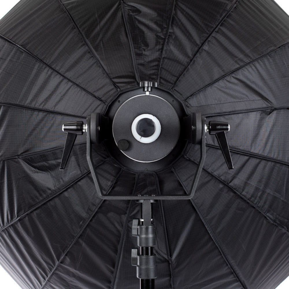 "StudioPRO 47"" 16 Rods Parabolic Softbox for Bowens Monolights With Mounting Arm"