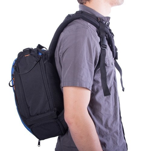 StudioPRO DSLR Camera Mini Travel Sling Bag/Backpack - Select Color -  - 12
