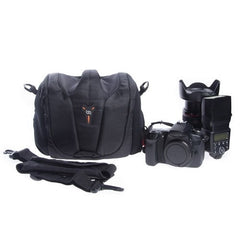 StudioPRO DSLR Camera Padded Gadget Bag - Black -  - 7