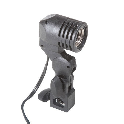 Single Socket Swivel Photography / Video Fluorescent Light Fixture ...