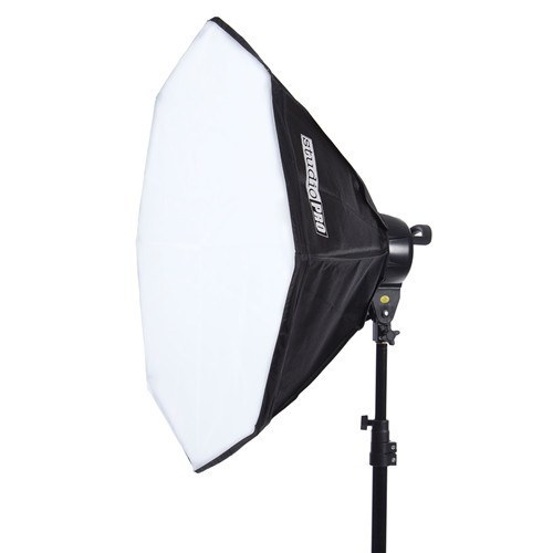 "StudioPRO Fluorescent Two 5 Socket Head AC Power Light Kit With 32"" Octagon Softbox, 2000W Output -  - 3"