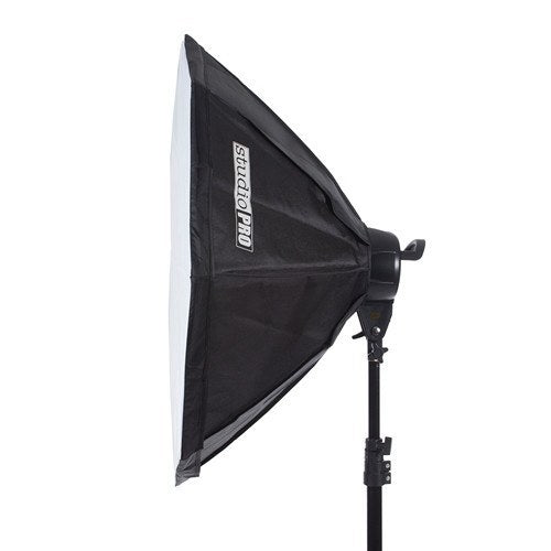 "StudioPRO Fluorescent Two 5 Socket Head AC Power Light Kit With 32"" Octagon Softbox, 2000W Output -  - 4"