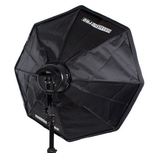 "StudioPRO Fluorescent Two 7 Socket Head AC Power Light Kit With 32"" Octagon Softbox, 3200W Output -  - 6"