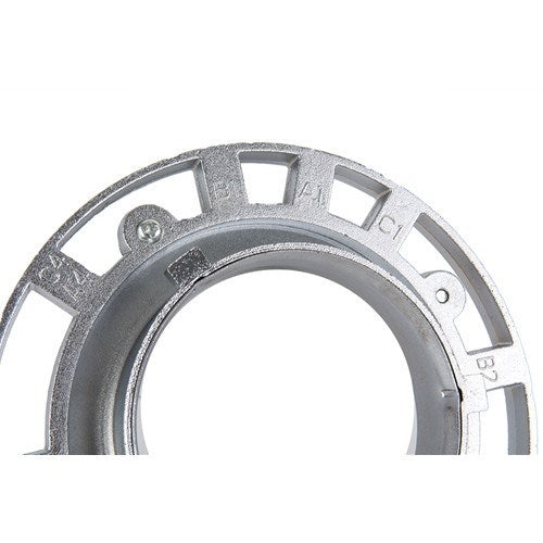 All Aluminum, S-Type Speedring Fits Bowens -  - 3