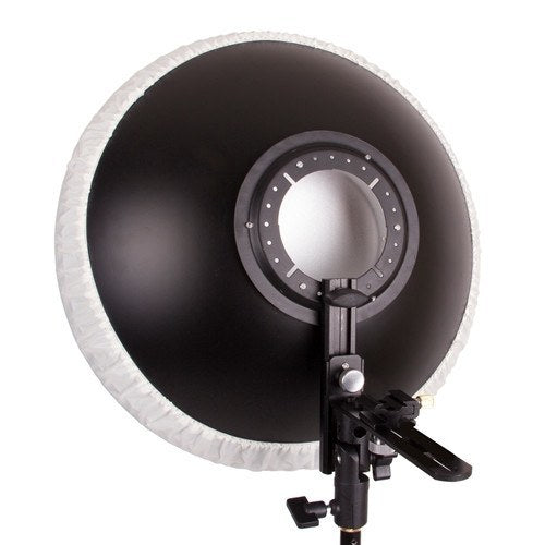 "Beauty Dish 16"" with Honeycomb Grid Interchange for Speedlights -  - 4"