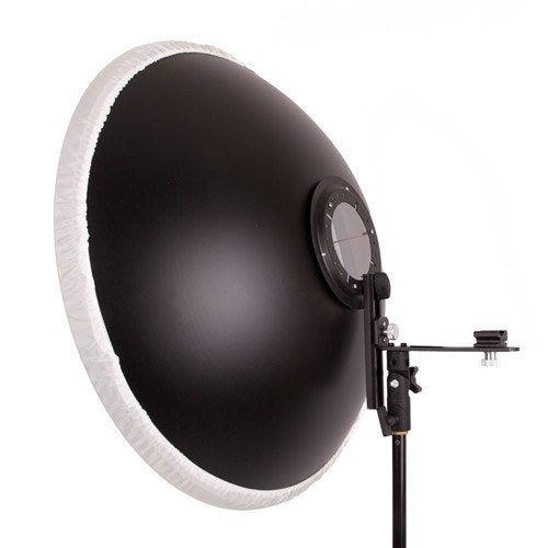 "Beauty Dish 22"" with Honeycomb Grid Interchange for Speedlights -  - 3"