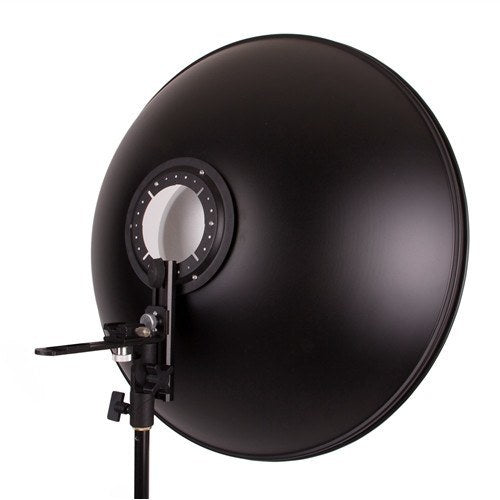 "Beauty Dish 22"" with Honeycomb Grid Interchange for Speedlights -  - 7"