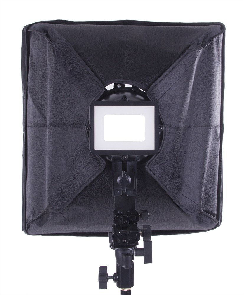"Flash Bracket with 16""x16"" Softbox -  - 1"