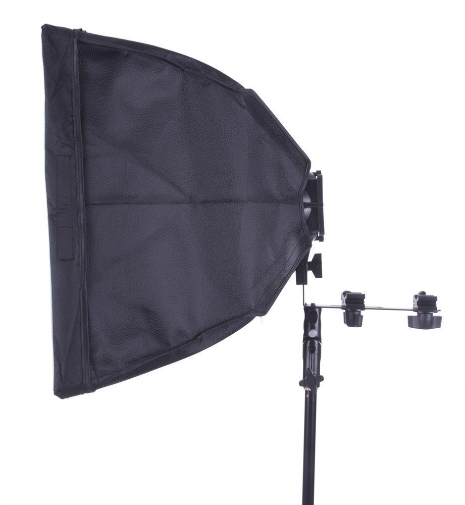 "Flash Bracket with 16""x16"" Softbox -  - 2"