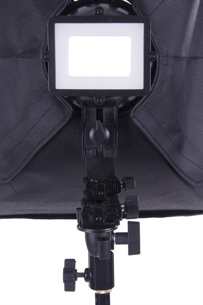 "Flash Bracket with 16""x16"" Softbox -  - 5"