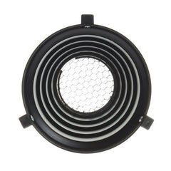 Snoot For Bowens Monolight With 20º Grid -  - 2