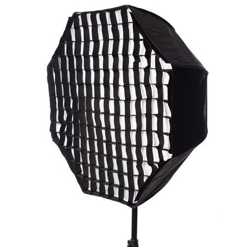 StudioPRO Octagon Hybrid Umbrella Softbox - 30 Inch with Grid