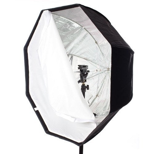 StudioPRO Octagon Hybrid Umbrella Softbox - 30 Inch with Grid -  - 3