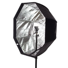 StudioPRO Octagon Hybrid Umbrella Softbox - 30 Inch with Grid -  - 4