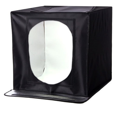 StudioPRO All In One LED Product Photo Light Tent w/ 4 Background Kit - 24 Inch