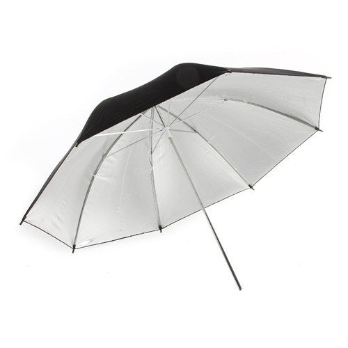 "StudioPRO Black on Silver Umbrella - 33"" -  - 1"