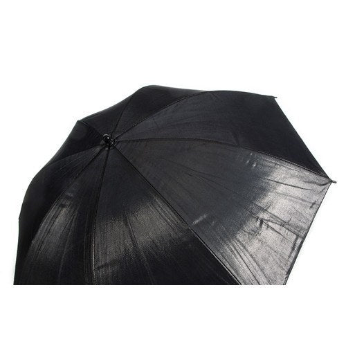 "StudioPRO Black on Silver Umbrella - 33"" -  - 2"