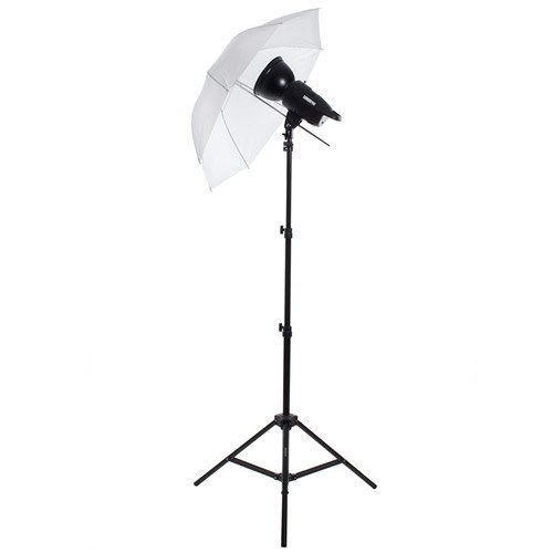 "100W/s Strobe Monolight 33"" Translucent Umbrella Photo Kit -  - 1"