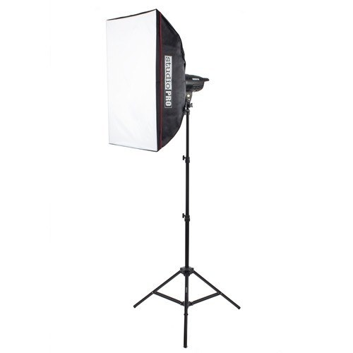 "100W/s Strobe Monolight With 20""x28"" Softbox Kit -  - 1"