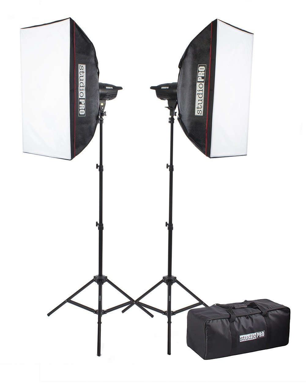 "300W/s Double Strobe 20""x28"" Softbox Kit w/ Carrying Bag -  - 1"