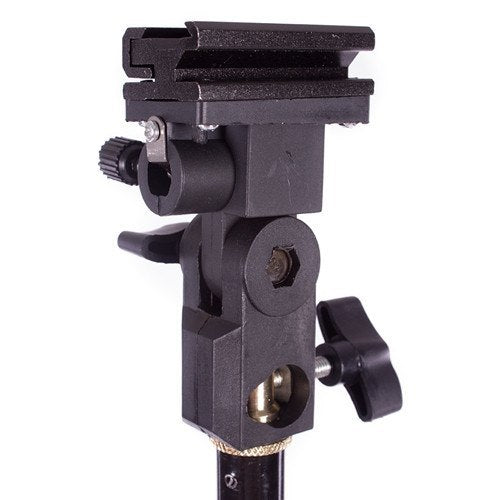 Speedlight Flash Bracket with Umbrella Mount