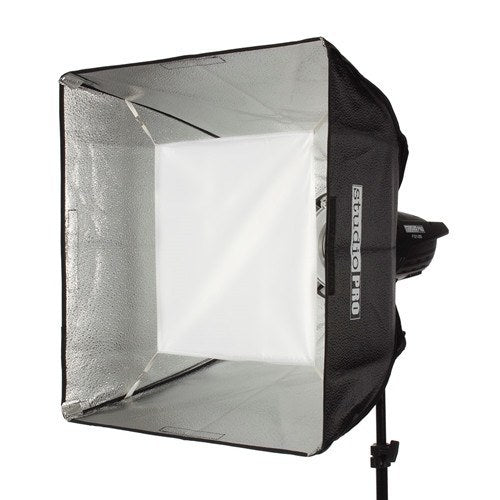 "StudioPRO Two 150W/s Monolights 20"" Square Softbox Kit Carrying Case -  - 2"