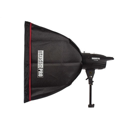 "StudioPRO Two 150W/s Monolights 20"" Square Softbox Kit Carrying Case -  - 4"