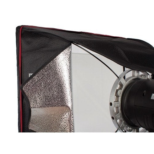 "StudioPRO Two 150W/s Monolights 20"" Square Softbox Kit Carrying Case -  - 5"
