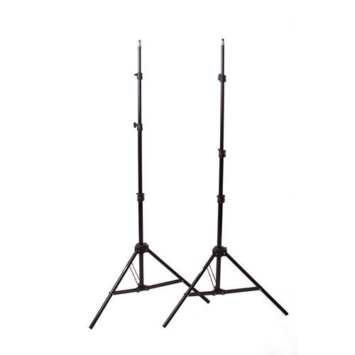 "StudioPRO Two Monolight Kit with Take Down 33"" Umbrella with Carrying Case & Trigger- 400W/s -  - 8"