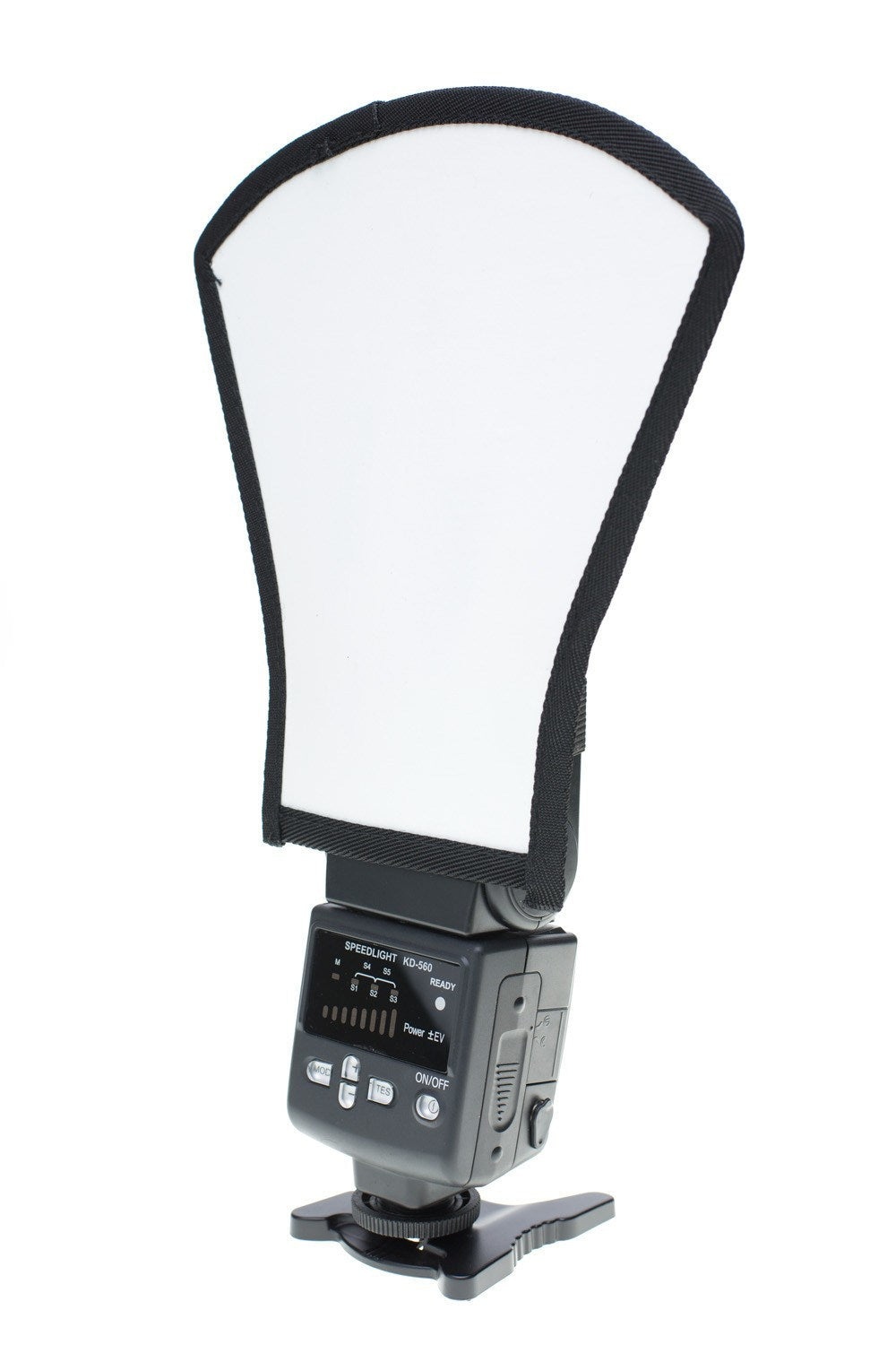 StudioPRO Two Side Flash Diffuser Reflector Silver/White For Speedlite -  - 2