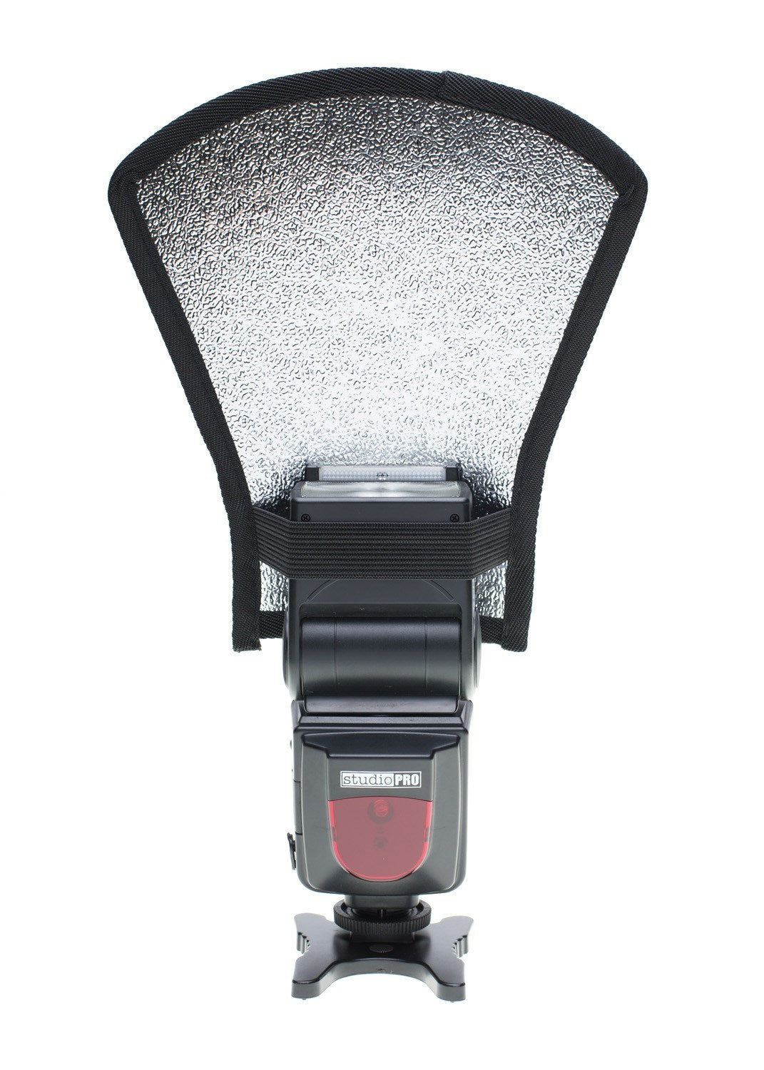 StudioPRO Two Side Flash Diffuser Reflector Silver/White For Speedlite -  - 3