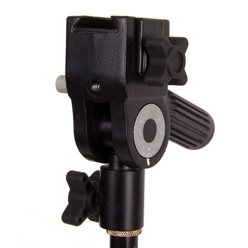 Triple Hot Shoe/Flash Bracket with Umbrella Socket -  - 9