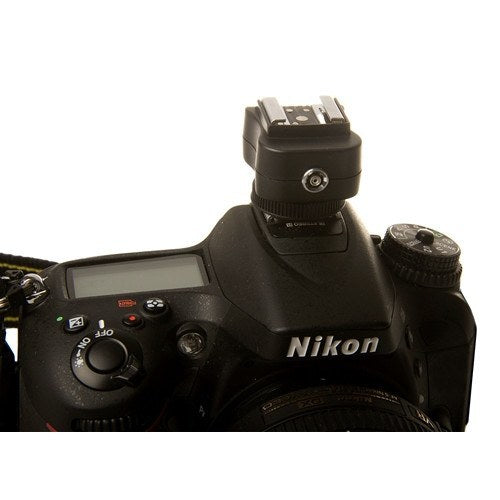 TTL Hot Shoe Adapter Base for Nikon -  - 4