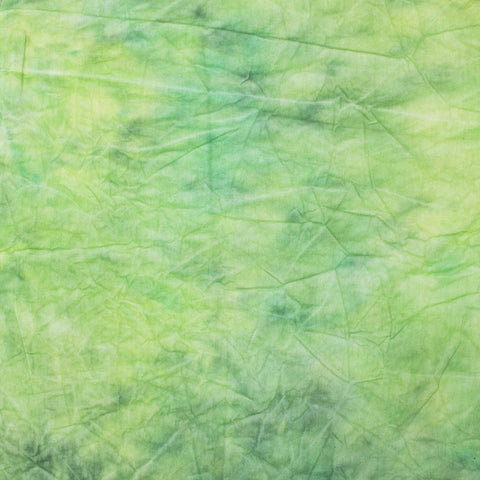 Hand Painted Tie Dye Spring Green Muslin Backdrop (Select Size)