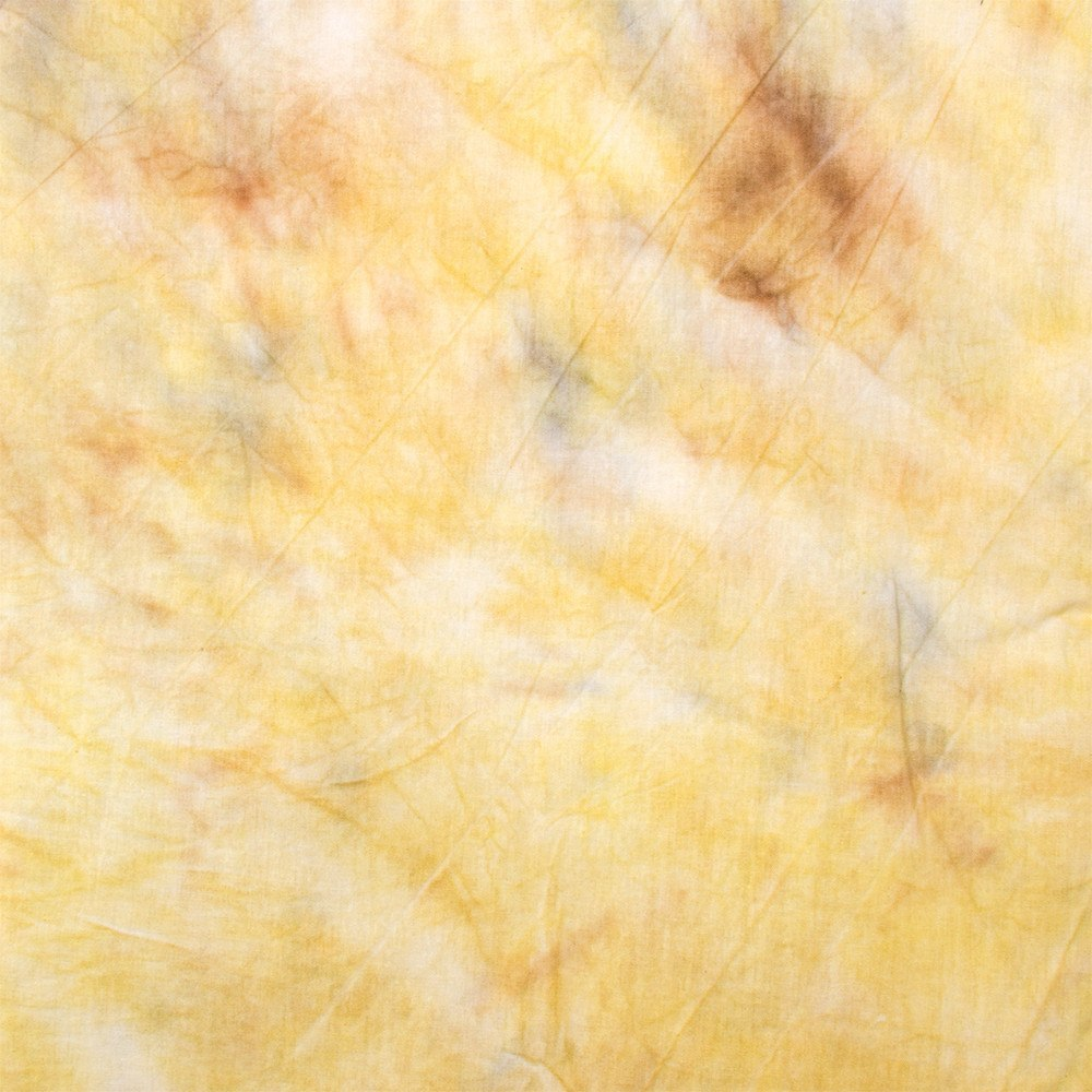 Hand Painted Tie Dye Yellow Muslin Backdrop (Select Size) -