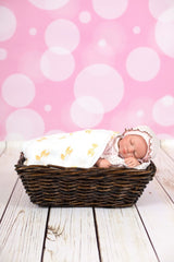 StudioPro Vinyl Bokeh Baby Pink Backdrop - (Choose Size) -  - 2