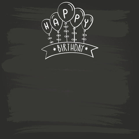 StudioPro Vinyl Chalk Kids Birthday Backdrop - (Choose Size)