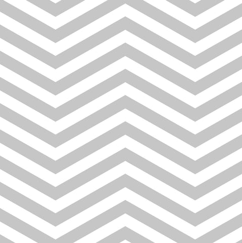 StudioPro Vinyl Chevron Gray Backdrop - (Choose Size)