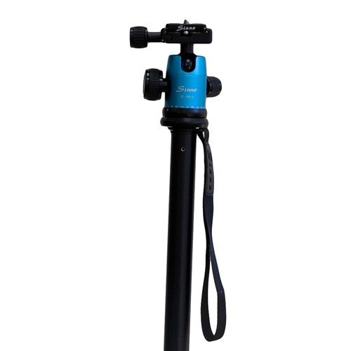 Black PRO Aluminum Tripod with Ball Head -  - 2