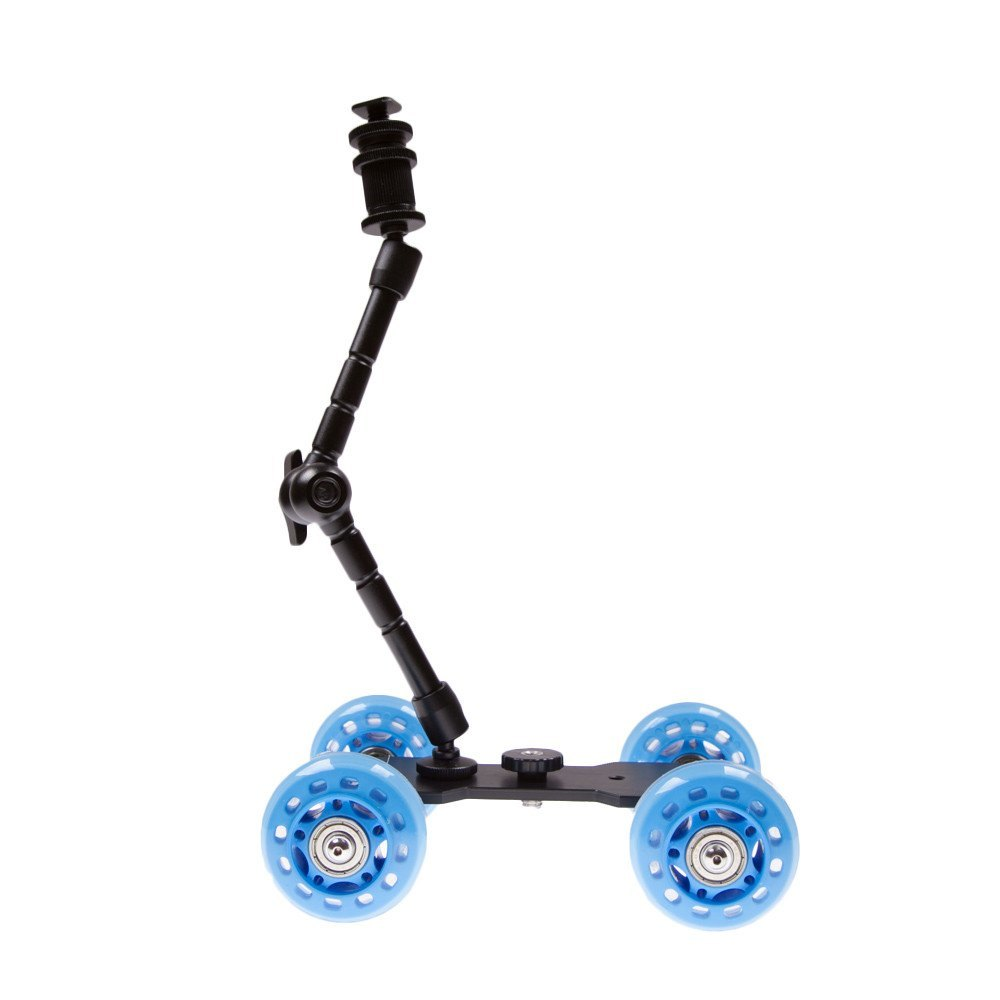 Skate Dolly for DSLR with Arm -