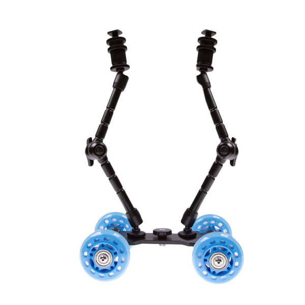 Skate Dolly for DSLR with Two Arms