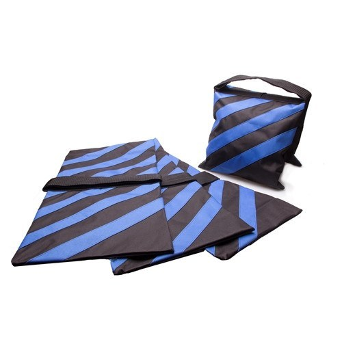 Four Photography Studio Stage Film Light Stand Sandbags - Blue