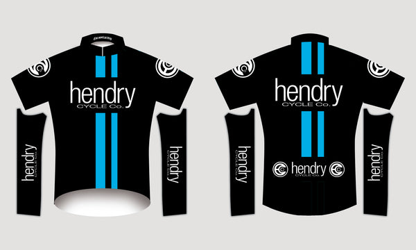 Hendry Cycles Short Sleeved Team Jersey