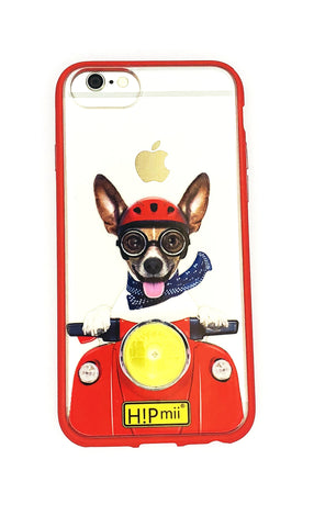 Iphone 6/7/8 - Scooter Dog Design