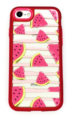 Iphone 7/8 - Watermelon Stripes SnapBack
