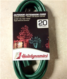 Holidynamics Extension Cord (single)