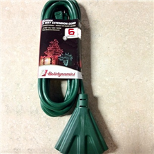 Holidynamics 3-Way Extension Cord