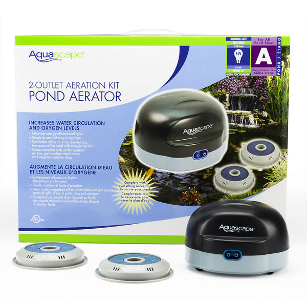 2 Outlet Pond Aeration Kit
